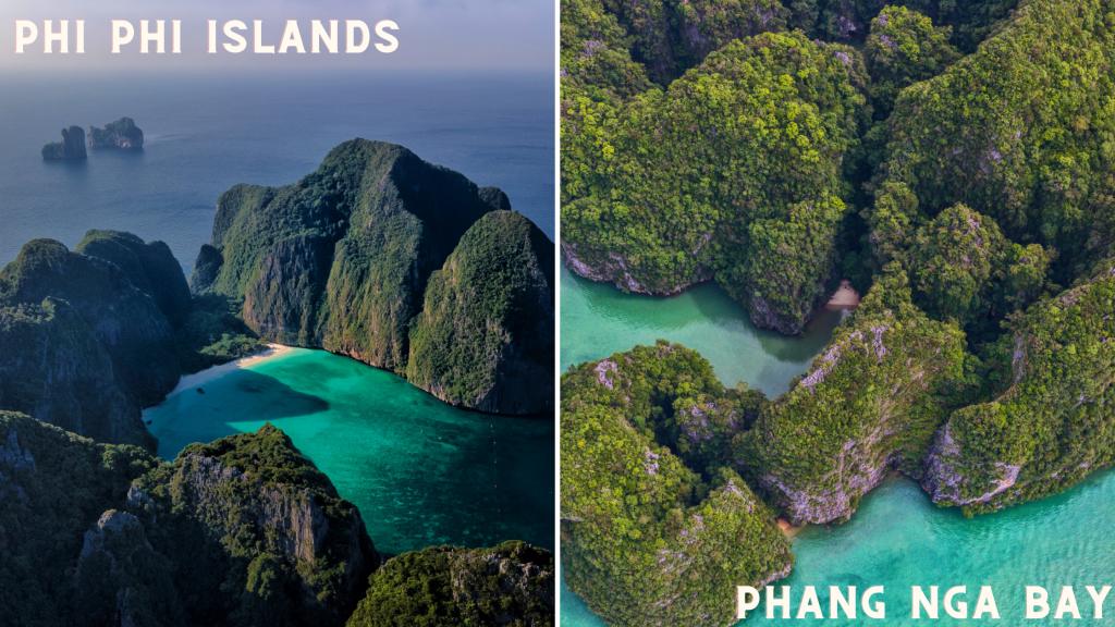 phi phi island and phang nga