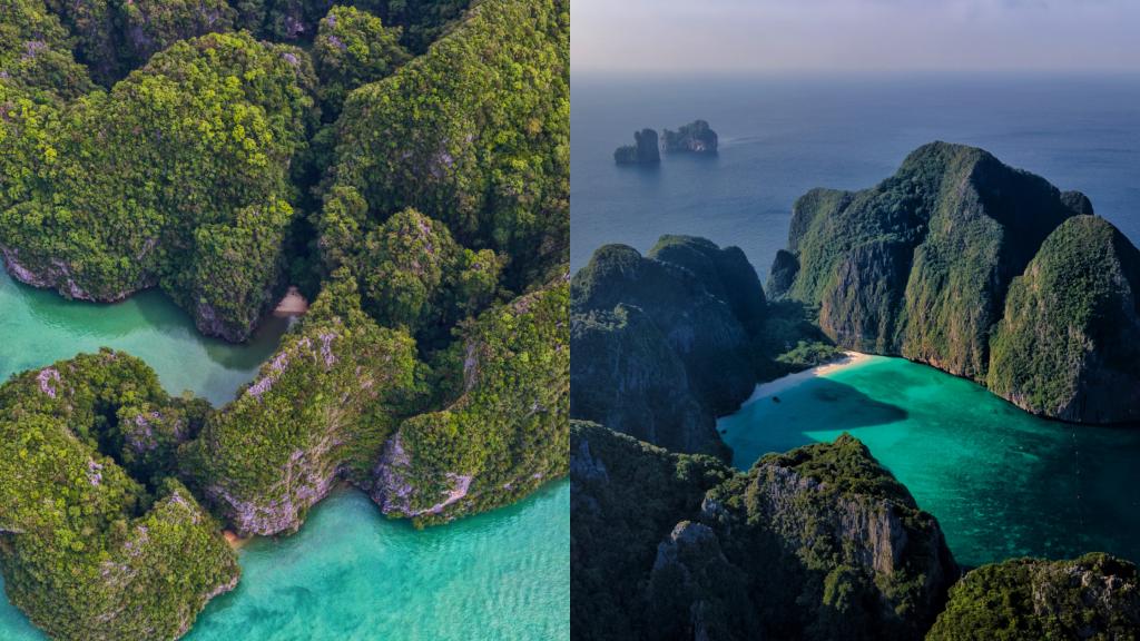 james bond island and phi phi