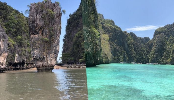 What Is The Difference Between A James Bond Island Private Boat Tour and A Phi Phi Island Private Boat Tour?