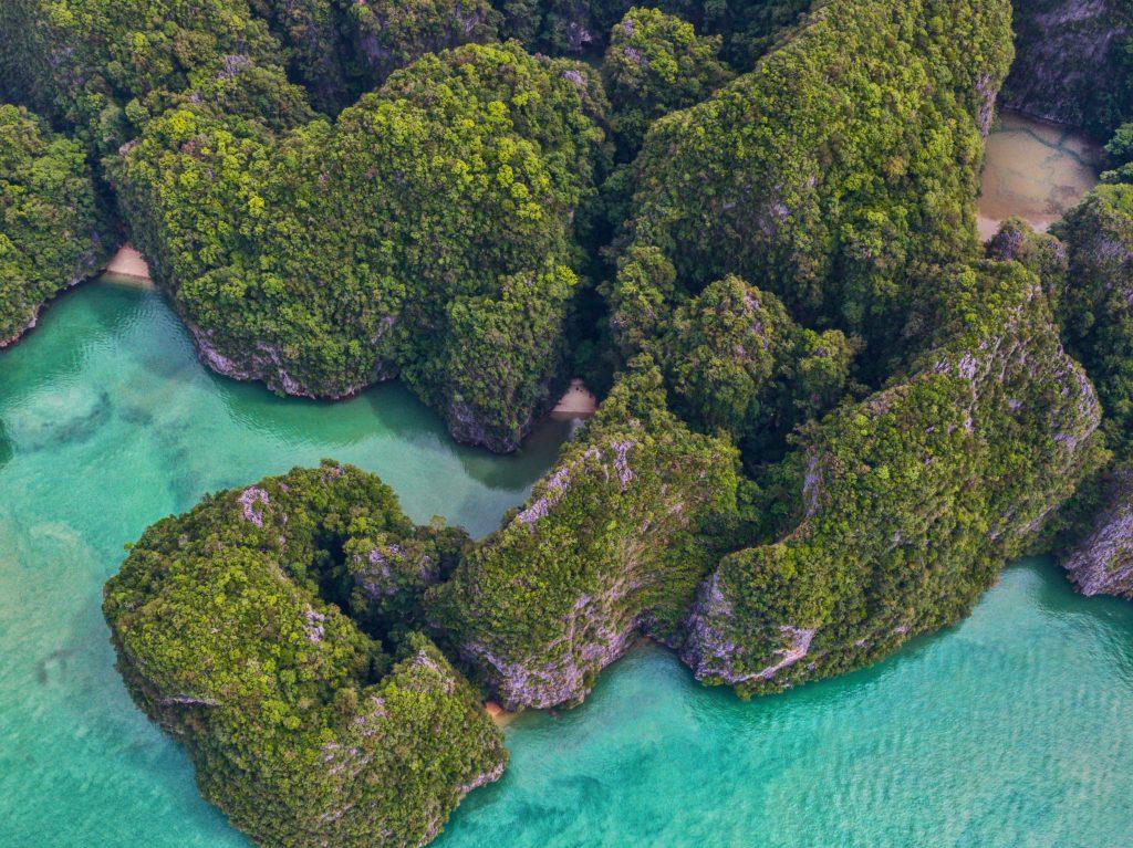 Aerial View Phang Nga