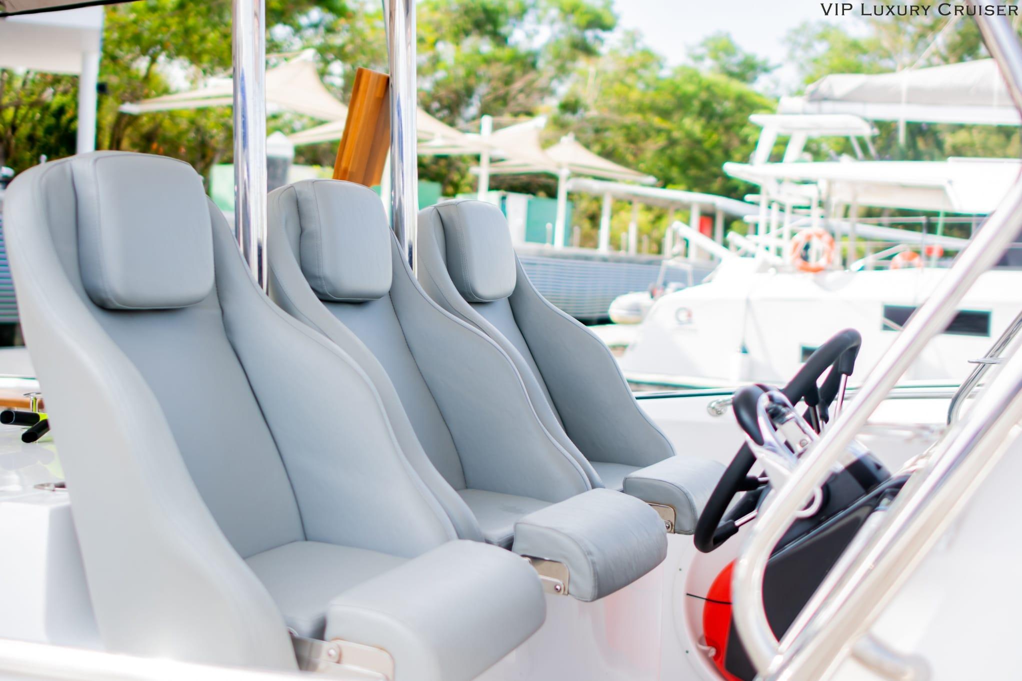 Lucus 7 Vip Cruise Captain Seat