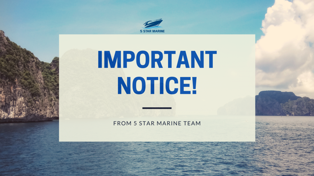 important notice for closure