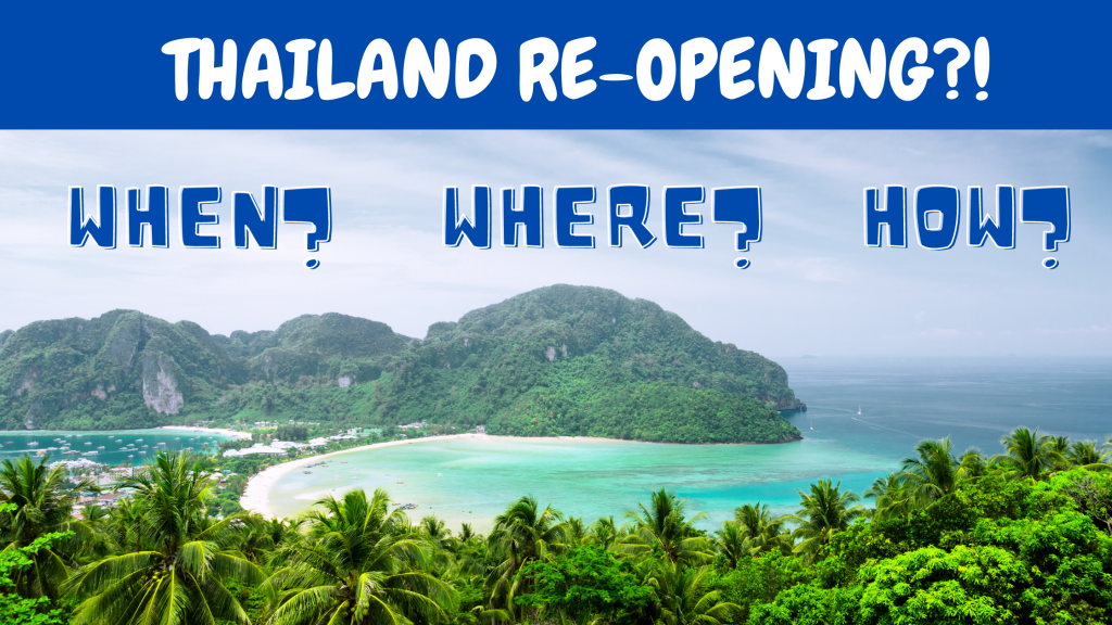 thailand re opening guidelines