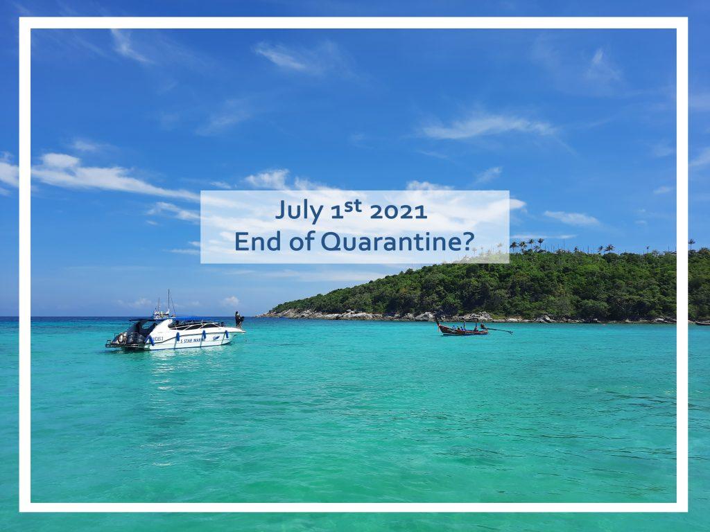 1st July No Quarantine