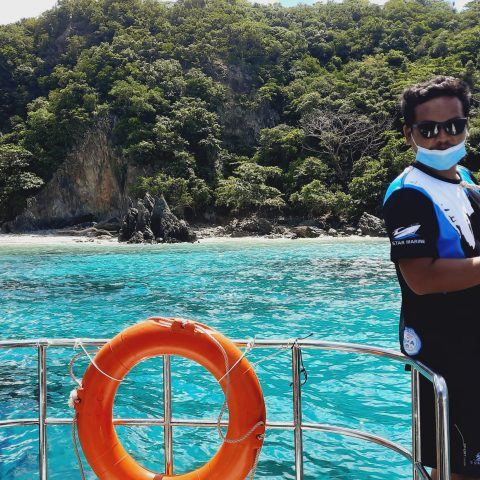 Private Boat Tour to Coral Island