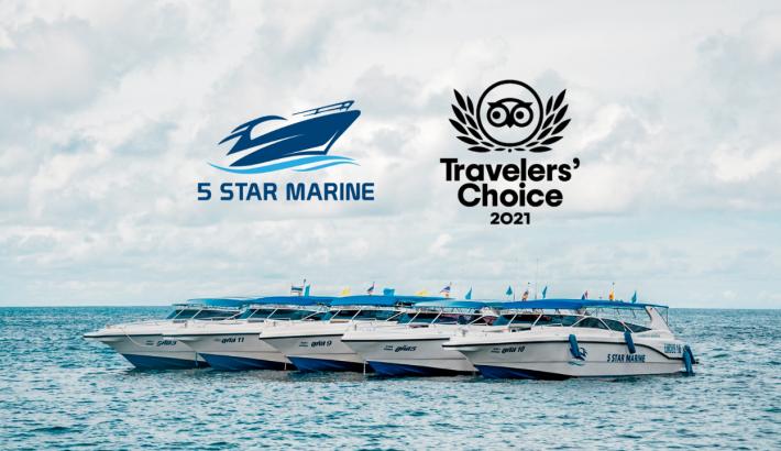 5 Star Marine Wins 2021 Tripadvisor